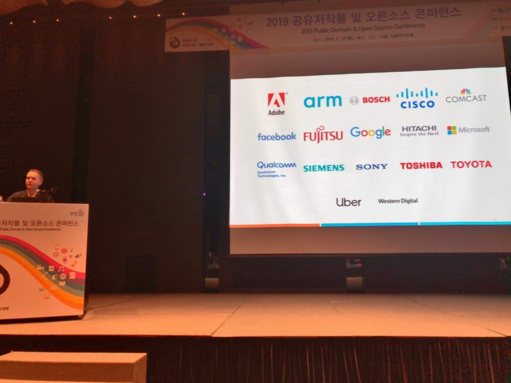 OpenChain @ Korean Copyright Conference - OpenChain